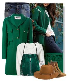 * Hat Trend & Suede Boots by breathing-style on Polyvore featuring polyvore, fashion, style, Valentino, Object Collectors Item, Office, Elizabeth and James, Michael Kors, GUESS by Marciano, RHYTHM and clothing