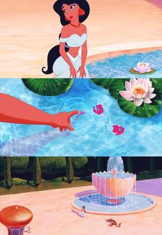 Visually breathtaking Disney movies:Aladdin jasmine and the palace Walt Disney, Disney Pixar, Disney Animation, Disney And Dreamworks, Disney Art, Disney And More, Disney Love, Disney Magie, Princesa Jasmine