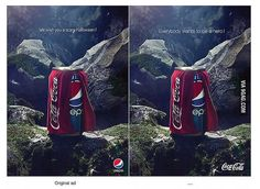 Pepsi Halloween Ad (Coca-Cola Costume) - Agency : Buzz in a Box, Brussels #Ads #Advertising