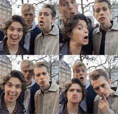 Brad, Tristan + James