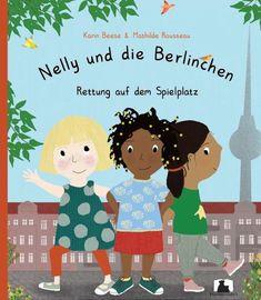 """Nelly ist ein Mädchen aus Berlin mit einem besonderen Talent für lustige Kinderreime. Gemeinsam mit ihren Freundinnen Amina und Hannah erlebt sie die größten Abenteuer. In """"Rettung auf dem Spielplatz"""" für ein kleiner Streit unter Geschwistern zu einer echten Teddy-Entführung! Natürlich halten die Berlinchen bei der Befreiung von """"Bärchen"""" zusammen - doch verläuft diese ganz anders als geplant... Diversity, Nonfiction, Childrens Books, German, Family Guy, Etsy, Kids, Fictional Characters, Kindergarten"""
