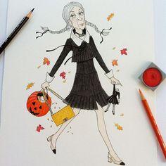 Granny Hildie Plumpepper on Halloween