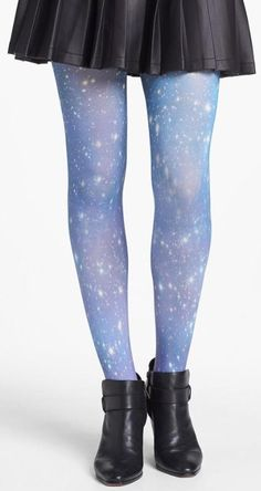 BP. 'Galaxy Blue' Tights (Juniors)
