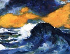 Tall Breaker Emile Nolde - 1948 Expressionisme