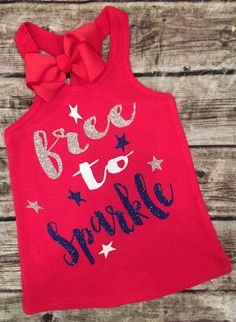 Fourth of July, Baby Girl Fourth of July Shirt/Onesie for girl, Toddler Girl Sparkle for girls, Sparkle Onesie, Bee Crafts, July Crafts, Holiday Crafts, Shirts For Girls, Kids Shirts, Aunt Shirts, Baby Shirts, Only Shirt, My Bebe
