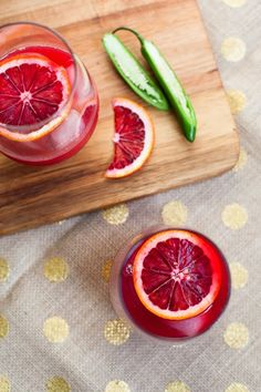Blood Orange Chili Juice