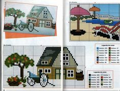LANDSCAPES IN CROSS STITCH