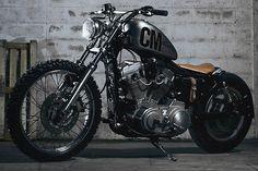 Harley | Bobber Inspiration - Bobbers and Custom Motorcycles | shotbike September 2014