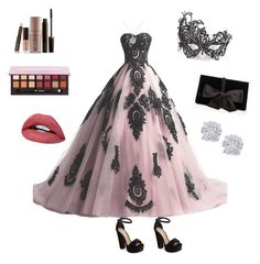 """""""princess for a day"""" by kelly-c-callahan on Polyvore featuring Masquerade, Steve Madden, Ann Taylor, Laura Mercier, Effy Jewelry and EWA"""