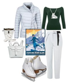 """""""Winter sporty look- (Trophy)"""" by amiraahmetovic ❤ liked on Polyvore featuring Allurez, Barbour International, Senreve, Topshop and Godinger"""