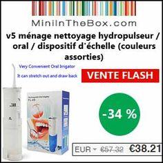 #missbonreduction; Vente flash : remise de 34% sur le v5 ménage nettoyage hydropulseur / oral / dispositif d'échelle (couleurs assorties) chez Miniinthebox. http://www.miss-bon-reduction.fr//details-bon-reduction-Miniinthebox-i852881-c1840995.html