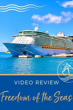 NEW! Amplified Freedom of the Seas Cruise Review Cruise Checklist, Cruise Tips, Cruise Travel, Cruise Vacation, Vacations, Southern Caribbean Cruise, Royal Caribbean Ships, Cruise Excursions, Cruise Destinations