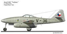 Avia S-92, tschechischer Nachbau der Messerschmitt Me 262