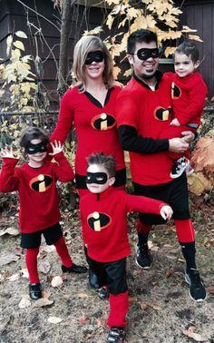 Fantasias de Halloween para a família | Os Incríveis