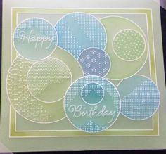 craft group sample using the Groovi grids