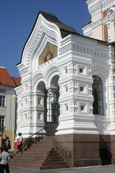 Aleksander Nevsky Cathedral, Tallinn, Estonia www.stephentravels.com/top5/entryways