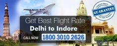 Are you want to do something different in upcoming weekends? You can simply book a Flight from New Delhi to Indore at TripToWay and have fun in Indore that is the 14th largest city in Indian and 147th largest city in the World. Just call us at 1800 3010 2626 and book your Delhi Indore Flights.