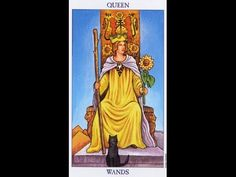 Tarot Card Lessons Made Easy Highlighting The Queen Of Wands