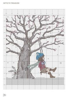 Winter swing cross stitch 1