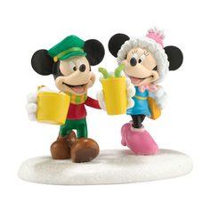 Mickey's Village Mickey & Minnie's Date Night   Department 56 Corner