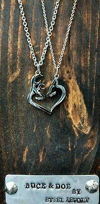 Buck & Doe necklace