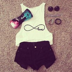 Clothes Casual Outift for • teens • movies • girls • women •. summer
