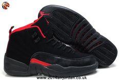 2014 Air Jordan 12 (XII) GS Black/Siren Red