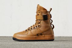 A New �Desert Ochre� For Nike�s SF-AF1