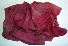 Cotton Muslin Fabric Dyed with Procion MX Dyes