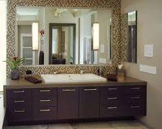 tile bathroom mirror frame - Google Search