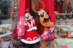 Pluto and Minnie