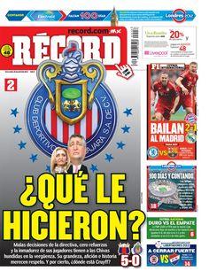 Portada RÉCORD 18-04-2012 | Guadalajara y México