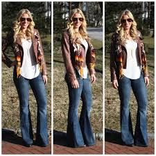 wide leg jean outfits