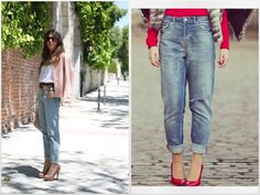 MOM jeans and PINK !