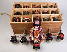 Early Japanese Play Dolls - Antique Japanese Dolls