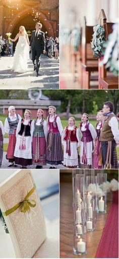 Lithuanian wedding.