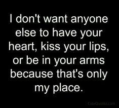 Sorry, I'm selfish :)