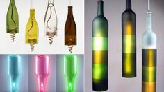 Recycled wine bottles: Home decor on a high | Hometone