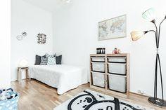 #Grünerløkka #Oslo #Scandinavian #kidsroom Kidsroom, Oslo, Scandinavian, Bench, Real Estate, Storage, Furniture, Home Decor, Rome