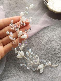 Wedding Bracelet, Wedding Earrings, Bridesmaid Earrings, Bridesmaid Gifts, Hair Jewelry, Wedding Jewelry, Handmade Accessories, Handmade Jewelry, Diy Headband