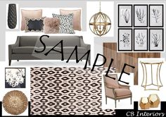 Interior Design Service- Customized & budget-friendly E-design, virtual mood board, suggested products and shopping guide. by cmbINTERIORdesign on Etsy https://www.etsy.com/listing/399379577/interior-design-service-customized