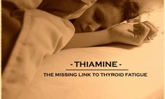 Could Thiamine be the missing link to your thyroid fatigue, stressed out… Low Thyroid, Thyroid Issues, Thyroid Problems, Thyroid Health, Adrenal Fatigue Symptoms, Hypothyroidism Symptoms, Underactive Thyroid, Thyroid Supplements, Low Stomach Acid