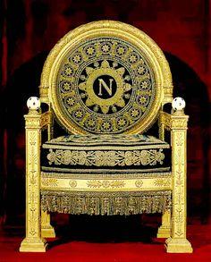 Percier / Fontaine - Napoleon's Throne