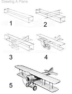 How to #Draw A Plane #MichaelsStores