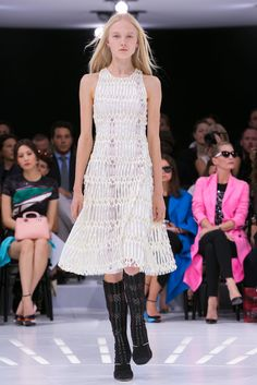 A look from the Christian Dior Spring 2015 RTW collection.