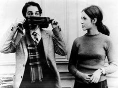 Jean-Pierre Léaud and Claude Jade in Baisers volés (Francois Truffaut, 1968)