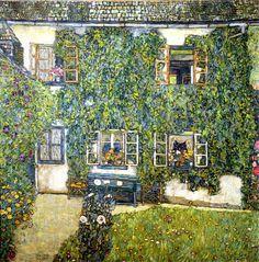 "Gustav Klmt's ""Forsthaus in Wiessenback am Attersee"""