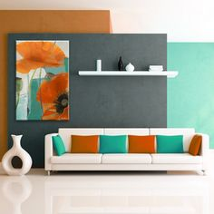 Ready2hangart Alexis Bueno 'Painted Petals XXXIII' Canvas Wall Art