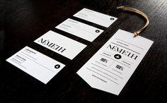 Németh - Business Card Design Inspiration | Card Nerd