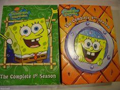Spongebob Squarepants Complete Seasons 1 and 2 DVD Box Sets FAST FREE SHIPPING